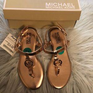 Michael Kors t-strap sandals